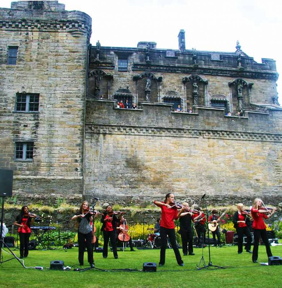 Stirling Castle - July 6th, 8th & 10th